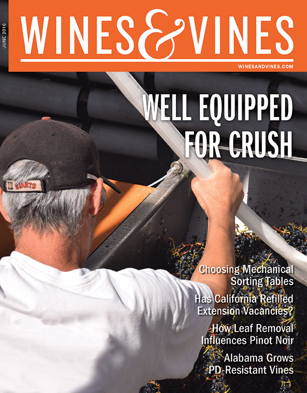 Wines & Vines Monthly magazine